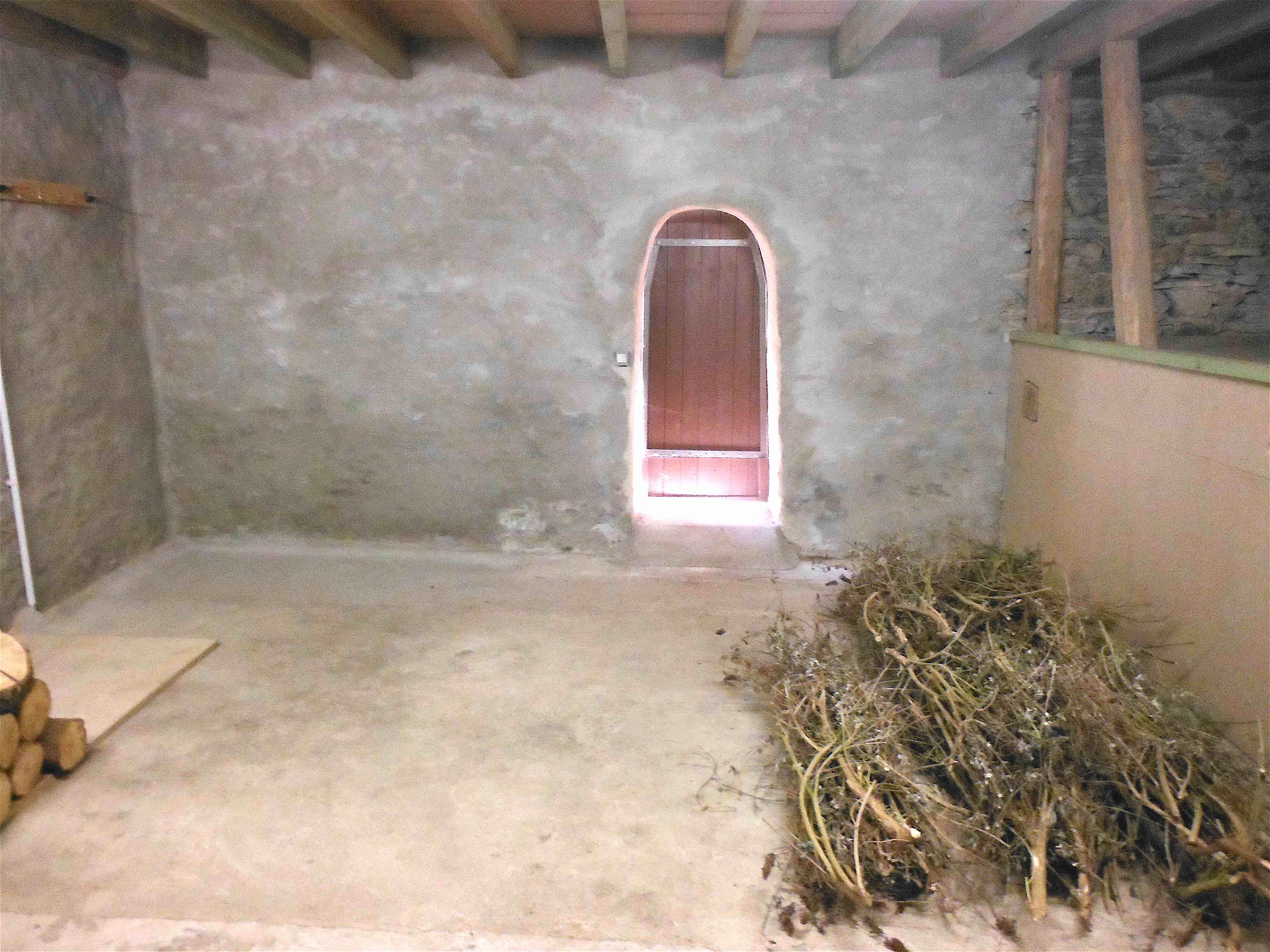 Innenansicht Scheune OG : geplant Bad/Sauna