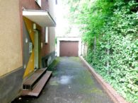Ansicht Ostseite/Giebelseite + Zugang zum Garten