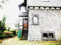 Fassadendetail Norden | EIngang Wintergarten