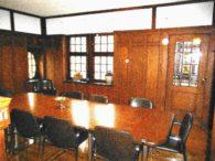 Konferenzraum vor Umbau | jetzt Küche