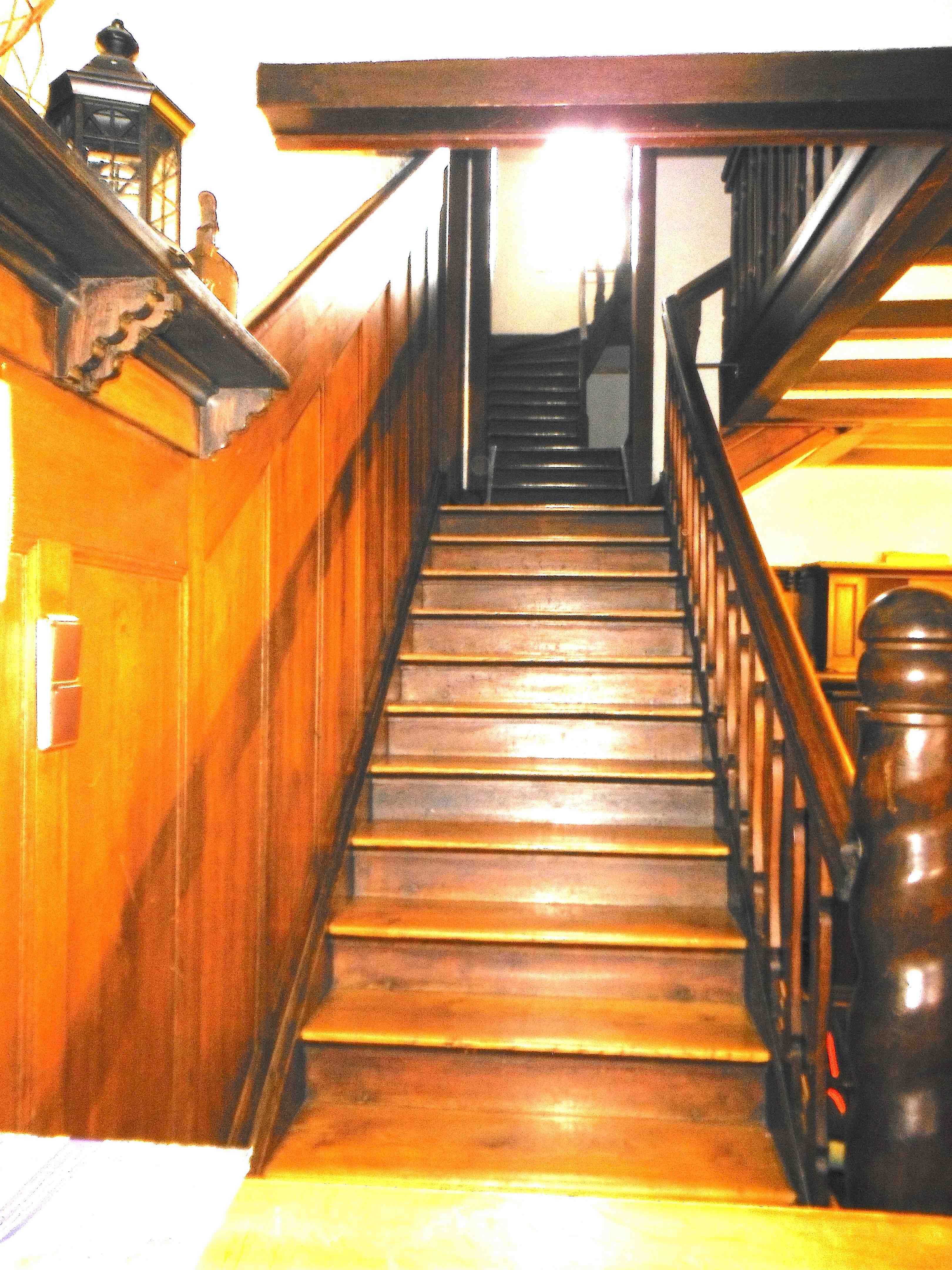 Treppenanlage EG|OG vor Umbau