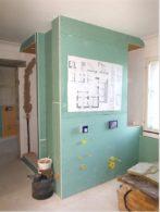 neu: Trockenbaukonstruktion Walk-In-Dusche