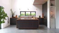 EG-Küche: Frontansicht
