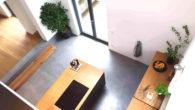 EG-Küche: Blick von der Galerie