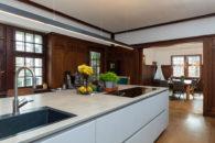 Küche EG - Blick in das Esszimmer